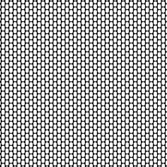 grille peyote vierge