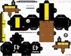 Troy Polamalu Steelers Cubee by etchings13 on DeviantArt