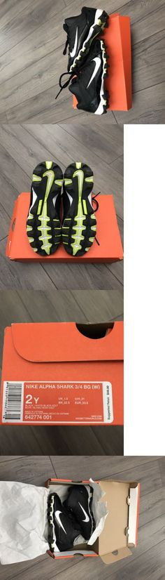 Youth 159118: Boy Nike Alpha Shark Football Cleats Size 2Y -> BUY IT NOW ONLY: $31 on eBay!