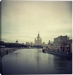 Moskva river in Moscow print by Fabio Sabatini at Photos.com 466055075