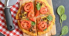 Bake up this easy coconut flour pizza crust as the perfect base for piling on your favorite toppings. The best part? It's made with just 6 Paleo ingredients
