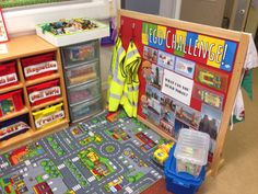 Construction area in reception Construction Area, Reading Specialist, Classroom Organisation, Eyfs, Reception, Challenges, School, Ideas, Receptions