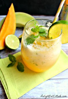 Melon and Mint Mojitos Community Post 24 Refreshing Melon Cocktails To Try This Summer Cocktails To Try, Wine Cocktails, Refreshing Cocktails, Non Alcoholic Drinks, Cocktail Drinks, Cocktail Recipes, Cocktail Ideas, Party Drinks, Fun Drinks