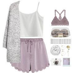 sweet dreams A fashion look from November 2017 featuring white long sleeve top, flower shirt and sexy lingerie. Browse and shop related looks. Cute Lazy Outfits, Chill Outfits, Summer Outfits, Formal Outfits, Formal Shoes, Lounge Outfit, Lounge Wear, Noora Style, Pajama Outfits