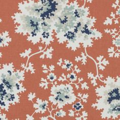 upholstery patterned fabric orange/copper - Google Search