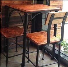 muebles de hierro y madera - Buscar con Google