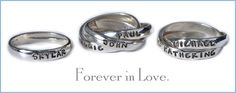 Mothers Jewelry - Custom Hand Stamped   Nelle and Lizzy