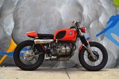 BMW R60/6 Scram of 1974 by Alejandro Crases Mendoza, XScrambler Cycles