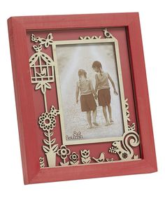 Look at this Flourish Pink Woodlands Photo Frame on #zulily today!