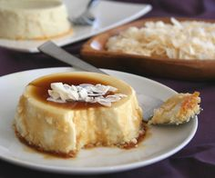Coconut Flan – Low Carb and Gluten-Free from @Carolyn Rafaelian Rafaelian Ketchum