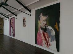 61 Charlotte street. London Magda Danysz gallery Gael Davrinche solo show tonight...