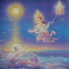 'ของขวัญ' จากพระราชา ภาพจิตรกรรม 'พระมหาชนก' งานศิลป์สุดวิจิตรแห่งแผ่นดิน