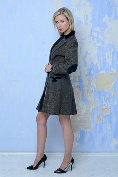 Tvídový kabát Verlaine dámský II