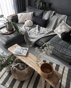 modern living room design ideas - Wohnraum gestalten - Home Sweet Home Modern Living Room, House Interior, Living Room Grey, Interior Design Living Room, Interior Design, Living Room Design Modern, Living Decor, Home And Living, Living Room Designs