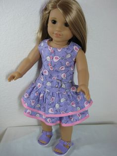 18 inch Doll Clothes American Girl Little Birdies by nayasdesigns, $25.00