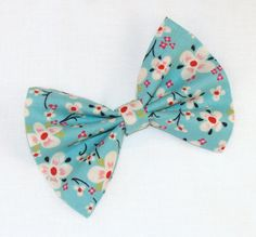 Hair Bow Vintage Inspired 1920s Japanese Flower Hair by Lorettajos, $7.50