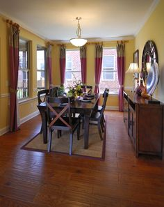 Dining Area, The Manchester II, 2005 Barclay Lane, Franklin TN, 37064, located in The Barclay Place Community