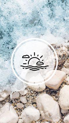 Pin on Story Highlights Instagram Beach, Instagram Frame, Instagram Logo, Instagram Story Ideas, Instagram Design, Google Pixel Wallpaper, Tumblr Wallpaper, Paradise Wallpaper, Insta Bio