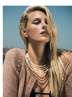 metallics & pastels: veroniek gielkens by thanassis krikis for marie clarie greece july 2013 | visual optimism; fashion editorials, shows, campaigns & more!