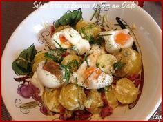 Salade Tiède de Pommes de Terre aux Oeufs