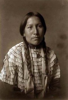 Mohave Indian woman