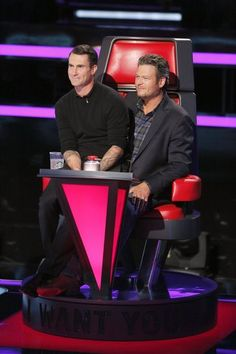 The Voice - Season 6 | look so comfy together...  lol