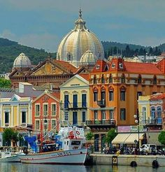 Mytilene, Island of Lesbos, North Aegean, Greece.