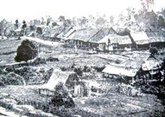 The Padang when KL was still a Hakka Chinese Tin Mining Settlement