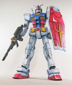 MEGA Size 1/48 RX-78-2 Gundam Anime Colors Ver. 1