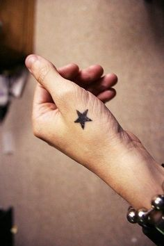 Star tattoo on wrist... I've wanted this for sooooo long!