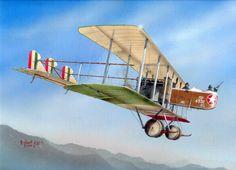 1917 Savoia Pomilio 3 - Robert Karr