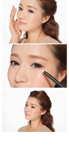 3 Concept Eyes Creamy Waterproof Eyeliner Pencil. Long-lasting eyeliner for non-smudging and neat eye makeup look!  Oil and water resistant formula lasts for the entire day, staying put with sharp and defined eye line.  Highly pigmented color will give a rich and sharp line with just a single pass.  Easy-glide eyeliner applies on like a dream without tugging.