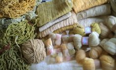 luciastorck: Tingimento natural Tinta Natural, Fiber, Wool, Natural Dyeing, Dyes, Spinning, Colors, Natural Colors, Tutorials