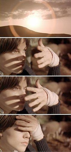 """Leonardo DiCaprio (Arthur Rimbaud) in """"Total Eclipse"""" (1995) ... #Beautiful <3"""
