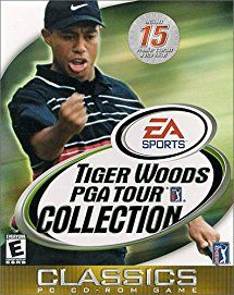 Tiger Woods PGA Tour Collection - PC. The best value in computer golf brings you revolutionary Internet play and enough courses to play an entire golf season. Choose to play as or against Tiger Woods or seven other PGA Tour professionals. This would make a perfect Christmas gift for any golf fans!