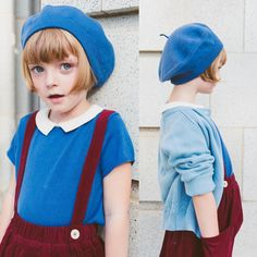love this color combination (it's like the stepsister of teal+red, right?) but for some reason I don't find it anywhere. Cute Kids, Cute Babies, Baby Kids, Kids Girls, Little Fashion, Kids Fashion, Vestidos Retro, Kid Styles, Child Models