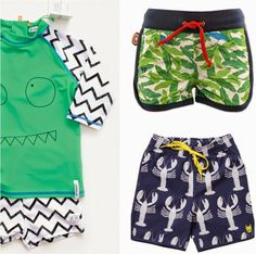Coolest kids' swimwear 2014: Indikidual, 4funkyflavours, Munster Kids