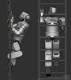 A new conceptual robot designed by Jason Falconer for Icarus Technology's stands a good chance for entering DARPA's Robotics Challenge program, planned for 2014. (+VIDEO)