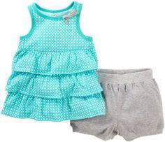 Carter's Baby Girls' 2 Piece Dot Print Shorts Set (Baby) - Turquoise - 3 Months Carter's http://www.amazon.com/dp/B00IJEBDDM/ref=cm_sw_r_pi_dp_Ghmevb0106EEA