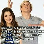 Awwwww and Ahhhhhh!!!!! Ross and Laura must be really close