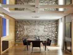 São Paulo (300 m²) - Arquiteto Toninho Noronha (Marcenaria Mallc, do Rio de Janeiro. O piso é da marca Pau Pau).