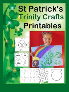 Christ-centered St. Patrick's Day crafts. Incorporate the message of Jesus with these fun, hands-on St. Patrick's Day children's crafts. Includes Biblical lesson.