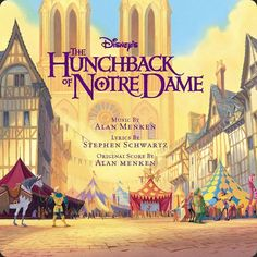 The Hunchback Of Notre Dame Original Soundtrack - Various Artists (Cd) Disney And More, Disney Love, Disney Stuff, Mary Wickes, Bells Of Notre Dame, Stephen Schwartz, How Far Ill Go, Soundtrack Music, Walt Disney Records