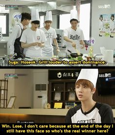 BTS COOKING