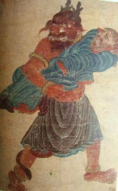 Mehmet Siyah Kalem (Siyah Qalem, Siyah Qalam), Mehmet Matita Nera, un grande maestro misconosciuto. Frog Illustration, Rare Images, Demonology, Angels And Demons, Animal Fashion, Gothic Art, Occult, Dark Art, Art Pictures