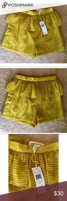 NWT - BCBG Shorts - Color Artichoke - Size 0 NWT - BCBG Shorts - Color Artichoke - Size 0. Originally $98. BCBG Shorts