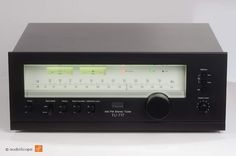 """Sansui TU-717. My """"new"""" Tuner. Awesome isn't it ? The most beautiful Tuner imho."""