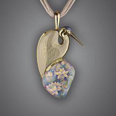 Bird pendant by Ilgiz Fazulzyanov (back side)