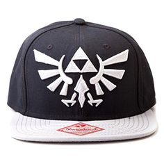 Official Legend of Zelda Black Snapback Trucker Baseball Hat Cap @ niftywarehouse.com #NiftyWarehouse #Geek #Zelda #Products #LegendOfZelda #Nintendo