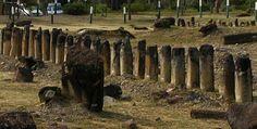 El Infiernito in Colombia, c. 2200 BC